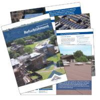 MAC Roofing refurbishment brochure