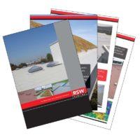 RSW roofing sales brochure